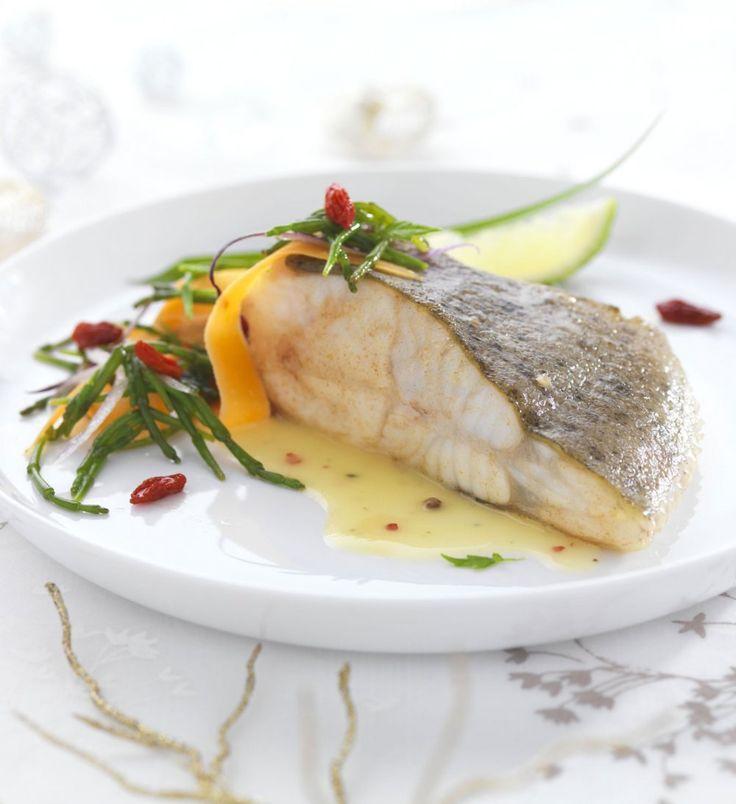 Recette minceur de la semaine: Pavé de turbot cuit au beurre salé et salicornes - Cosmopolitan.fr