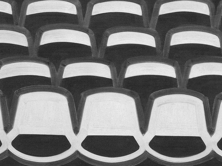 robert zandvliet, stoelen op een rij, een ander perspectief