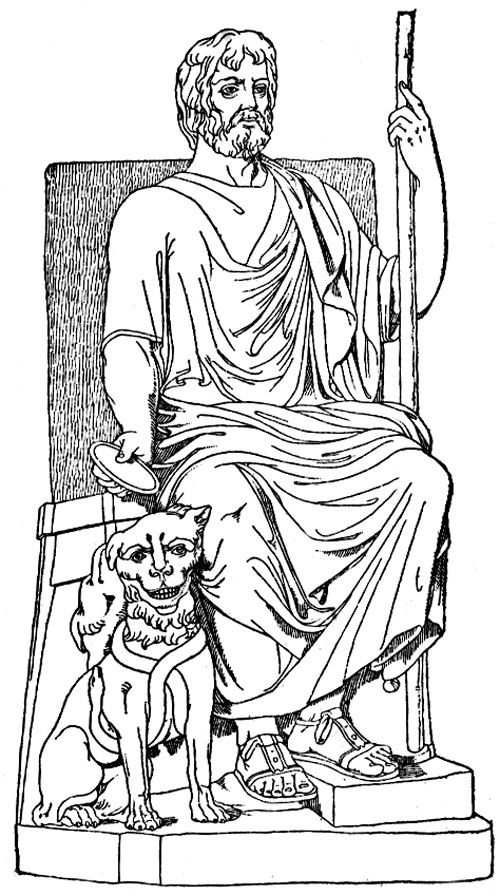 hades symbol coloring pages | 66 best ideas about 2012-13 Greece on Pinterest | Ancient ...
