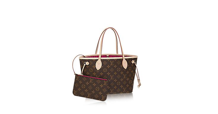 Discover Louis Vuitton Neverfull PM Louis Vuitton celebrates the Neverfull with a new version of this iconic bag, in a smaller size perfect for city wear. The redesigned interior features a fresh textile lining and heritage details inspired by House archives. Best of all, the removable zippered clutch can be carried separately as a chic pochette or serve as an extra pocket. Linings in a selection of bright shades lend a pop of vivid color to the timeless Monogram canvas.