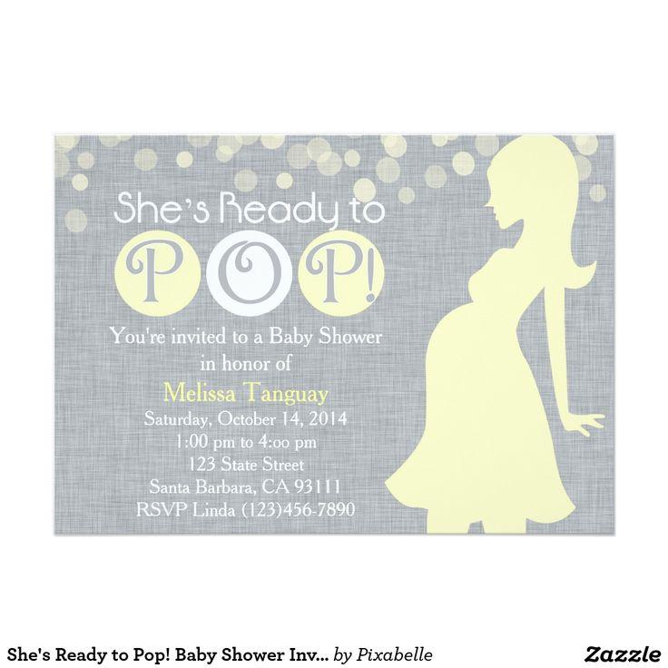 Babyparty Einladung X Cm Einladungskarte Kreiert Pixabelle Von.  Personalisiere Es Mit Texten U0026 Bildern Oder Kaufe Es Gleich So Wie Es Ist!