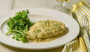 Το πιο ζουμερό στήθος κοτόπουλου με σάλτσα μουστάρδας