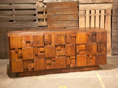 Block Head Furniture In Lancaster Mid Century Modern Lane Brutalist Dresser  (NO Longer Available