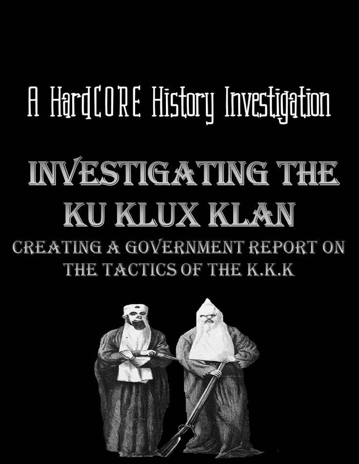 How could such a racist, evil group like the KKK gain power in the South in the late 19th century? Following the end of Reconstruction, a relatively new group called the Ku Klux Klan plagued the countryside, towns, and cities with their violent ways and overtly discriminatory behavior. By researching primary sources from the time period, students will come to understand how the KKK used intimidation, violence, and political maneuvering to obtain authority in the South.