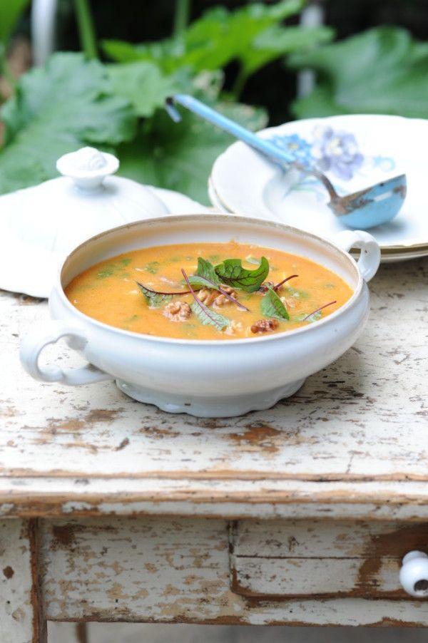 Hustá cizrnovo-bramborová polévka