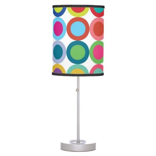 Superb This Colorful, Modern And Bold Design Lamp Has An Art Deco Feel To It. Design Ideas