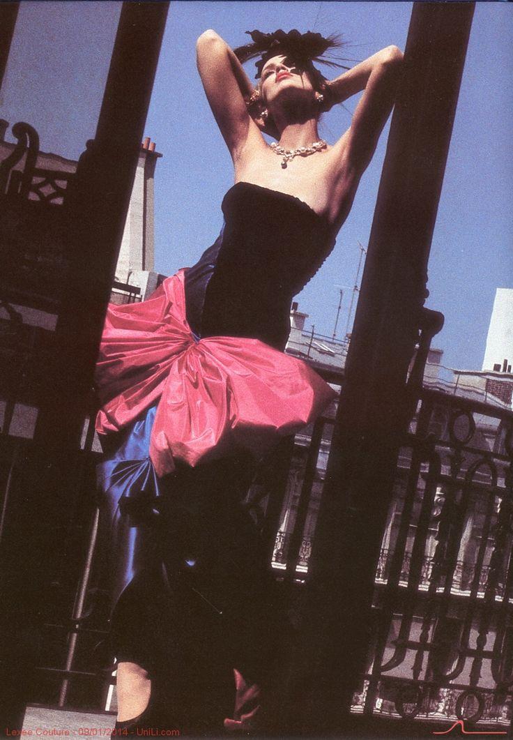 1984-85 - Yves Saint Laurent Couture by Helmut Newton -