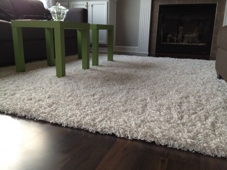 Living Room Cute White Large Area Rugs For Living Room Design With Hand Tufted White Living Room Shaggy Area Rug Also Green Coffe Table And Dark Brown Wooden Floor Besides  Make Your Living Room Look Dynamic With Right Rug