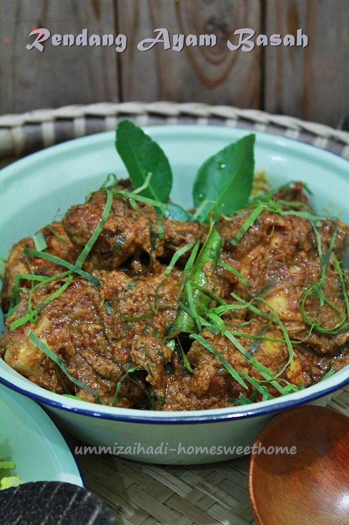 Home Sweet Home: Rendang Ayam Basah CMG