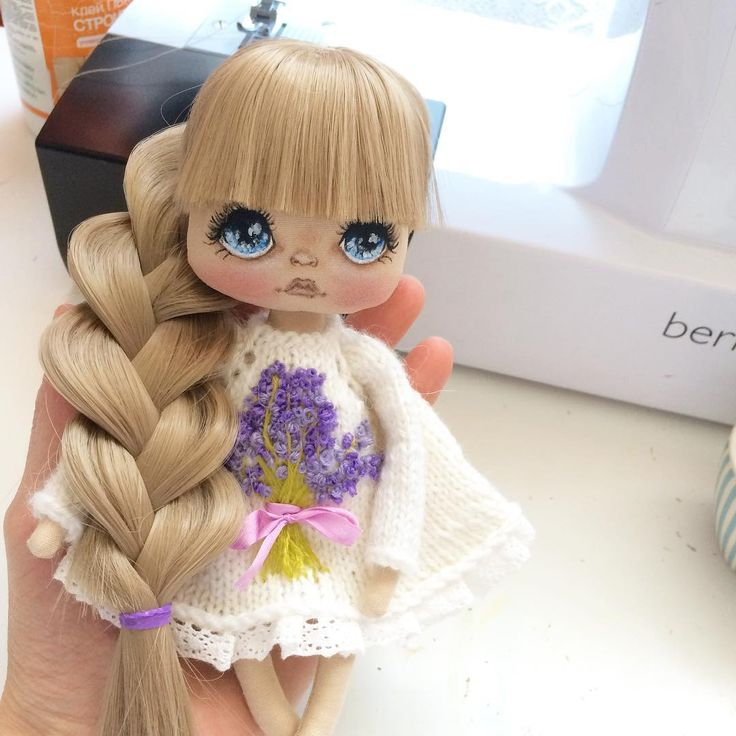 Новая девочка Лаванда;) занята #куклаолли #олли #кукла #куколка #куклакупить #авторскаяработа #авторскаякукла #ручнаяработа #doll #dolls #artdoll #handmade