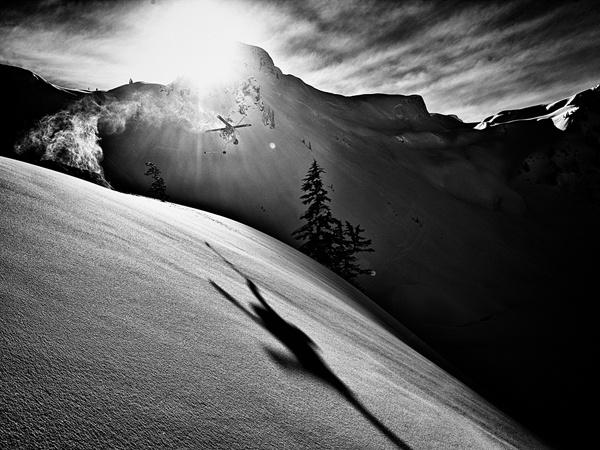 Backcountry Skiing Mount Baker, Washington  (Photograph by Grant Gunderson).