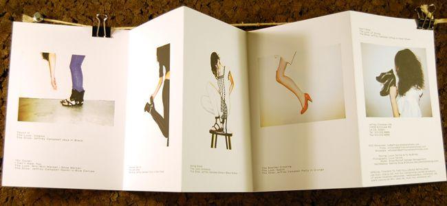 Fold Up Look Book Layout Design {Fall / Winter 2008} // Cameron Jennings Design