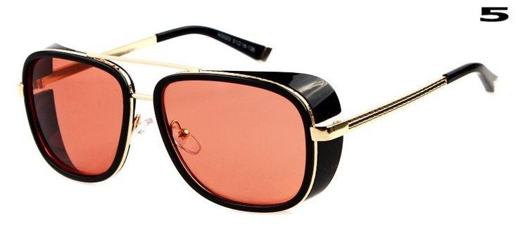 2014 IRON MAN 3 Matsuda RAY TONY Sunglasses Men Mirrored Designer Brand Vintage Sports  Eyewear Outdoor Sun glasses 8 Color