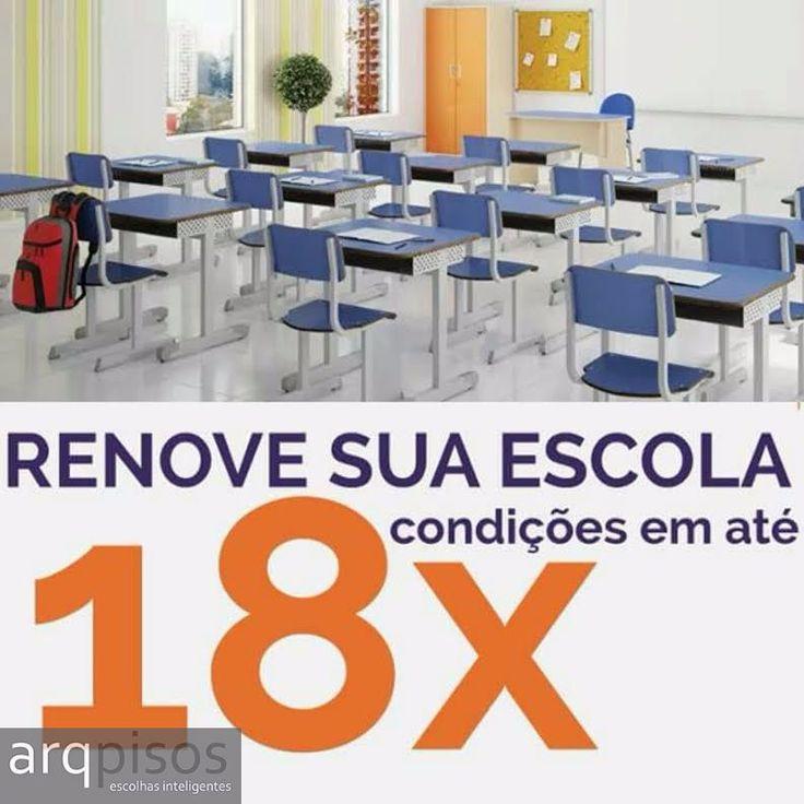 Móveis escolares - Solicite seu orçamento! arqpisos.arqpisos@gmail.com Telefone: 62 3637-8233 Celular: 62 98316-0037 Rua 1.137, Nº 241, Setor Marista - Goiânia. #universidade #faculdade #escolas #moveis #biblioteca #mobiliario