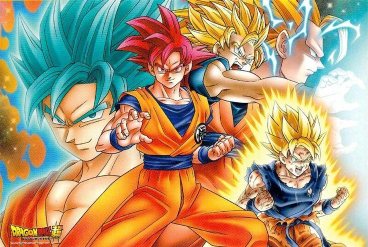 Goku All forms