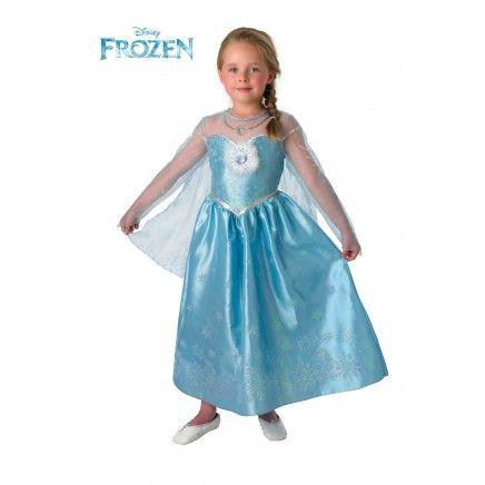 Disfraz de Elsa Deluxe Frozen para niña - Disfraces Frozen (Princesas Disney)