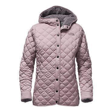 The North Face Women's THERMOBALL Fur Hoodie Fleece Jacket
