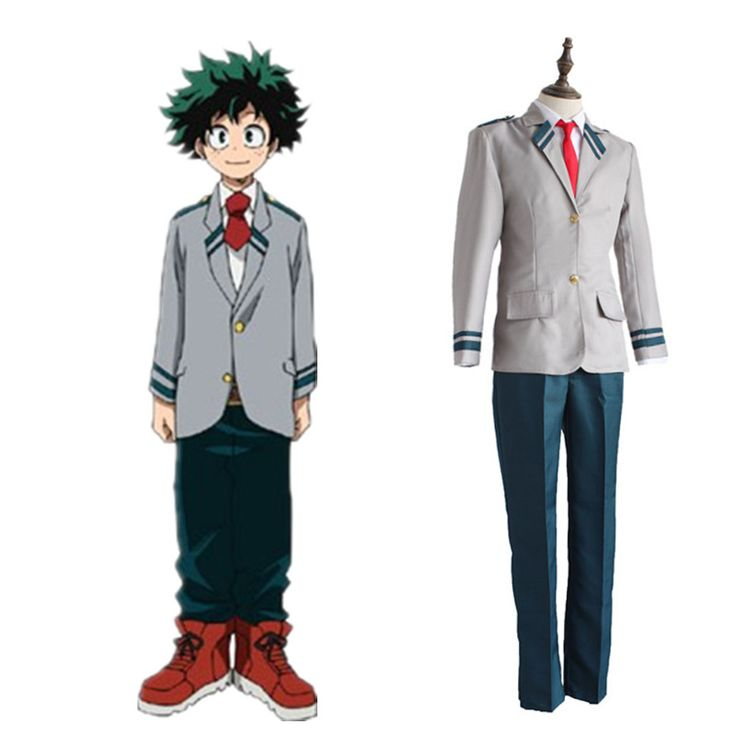 Find More Clothing Information about Izuku Midoriya cosplay costumes School uniforms Japanese anime My Hero Academia cosplay clothing(top+pante+tie),High Quality tie microphone,China tie storage Suppliers, Cheap uniform medal from anime costumes supermarket on Aliexpress.com