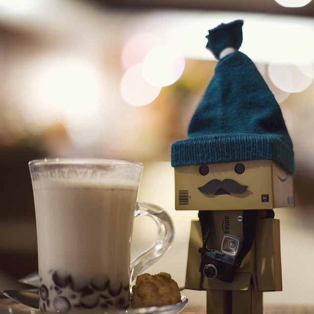 What's better than Danbo, Danbo with a mustache.