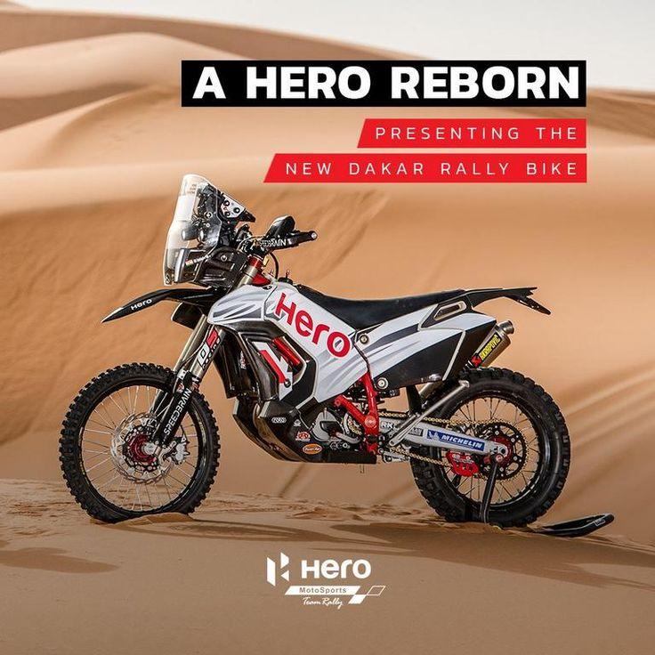 2018 Hero Dakar Rally Bike