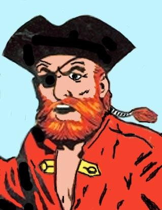 Redbeard. The comic was produced by writer scenarioschrijver Jean-Michel Charlier and artist Victor Hubinon.