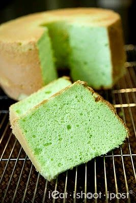 Pandan Chiffon Cake - This is the best recipe I have ever found!!