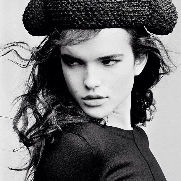 Top model Zoë Colivas snapped by Richard Gerst. Words of advice to her younger self, on Mind Over Model.