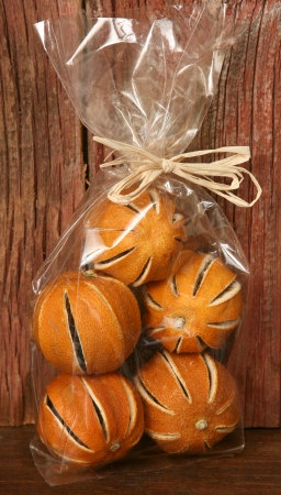 Dried Oranges make great bowl fillers!  Made in the USA and for sale on our website.  www.FineCountryLivingPrimitives.com