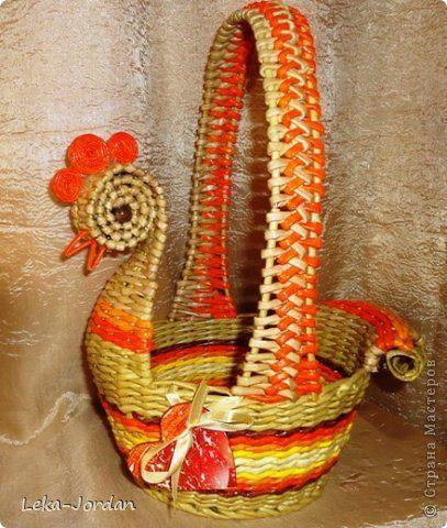 Поделка изделие Лепка Плетение Первая годовщина в лабиринтах плетения Трубочки бумажные Фарфор холодный фото 1