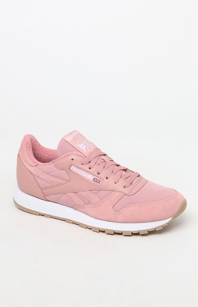 b522653164c97 Reebok Classic Leather ESTL Pink Shoes