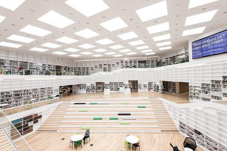 Une bibliothèque suédoise primée au World Architecture Forum