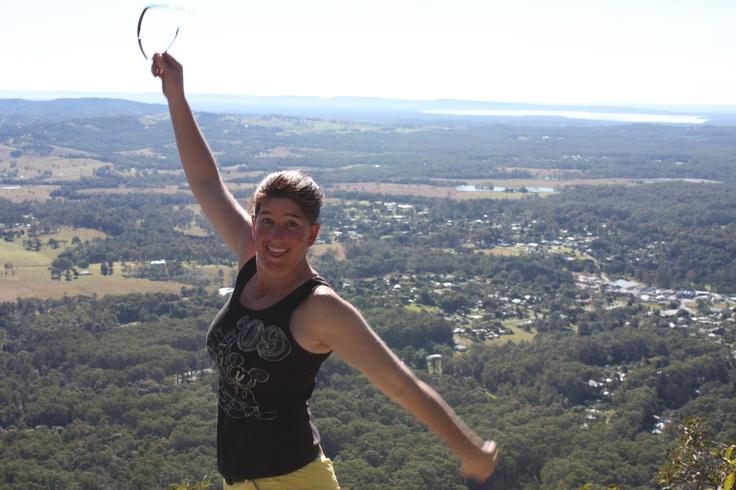 #great walker - The top of Mt Pomona