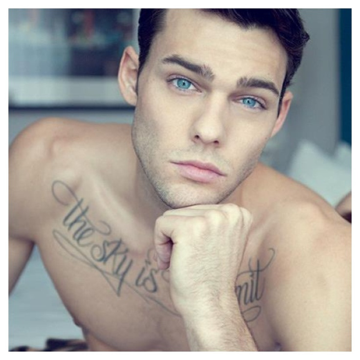 Tattoo The Sky is The Limit. Holden Nowell Men's