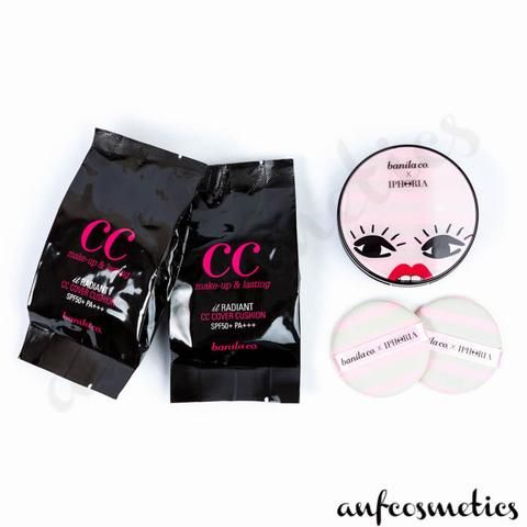 It Radiant CC Cover Cushion x Iphora - Pink Stripe Case
