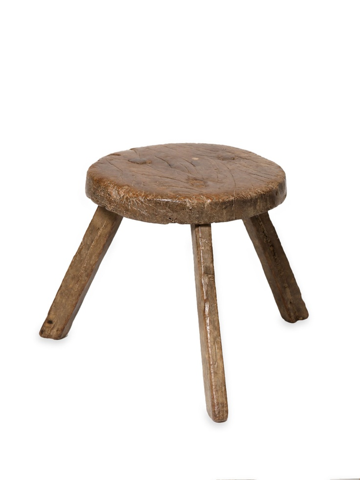 Vintage Three Legged Stool The Country Kitchen Look