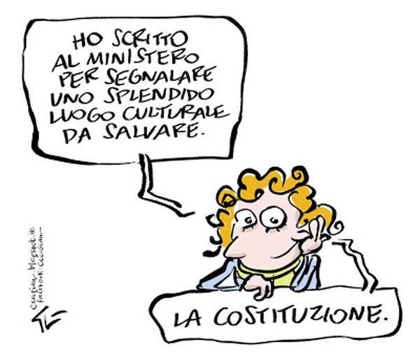 S.O.S Costituzione italiana.. #IoSeguoItalianComics #Satira #Politica #Humor #Comics #Italy #Ministry #Costituzione
