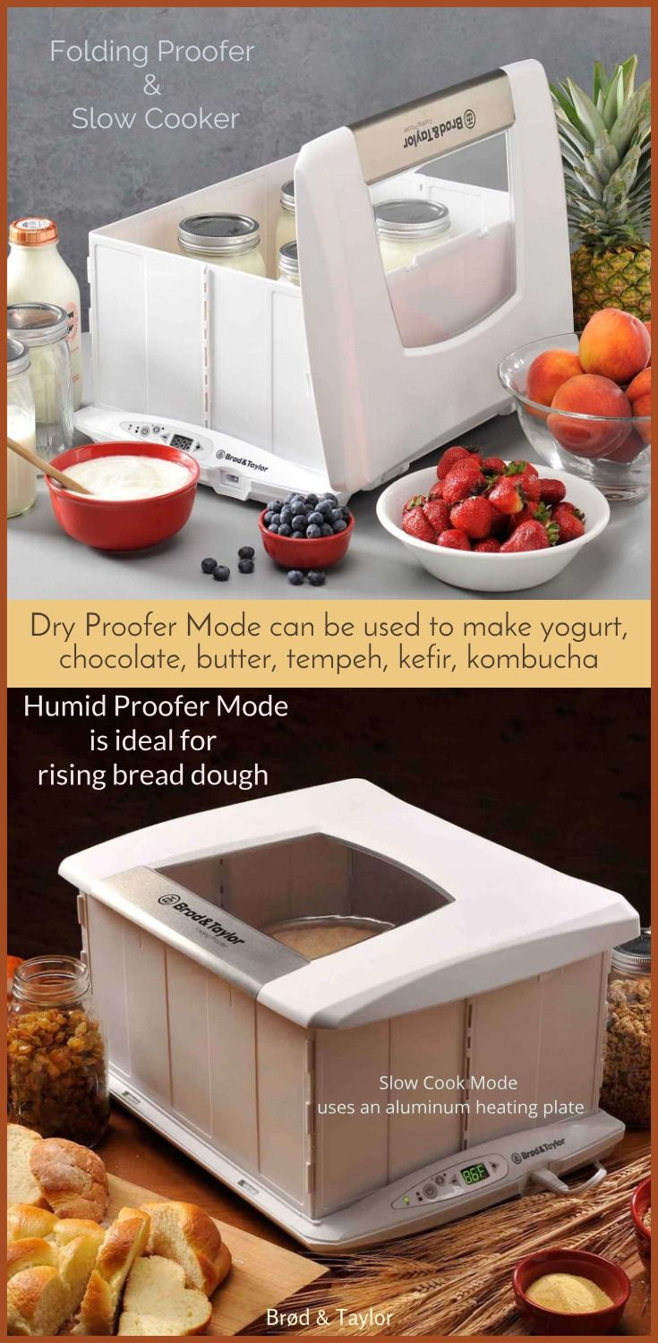 The Folding Proofer Slow Cooker Is Vital For Many Kitchen Tasks Like Proofing Bread Dough And Exploring The World