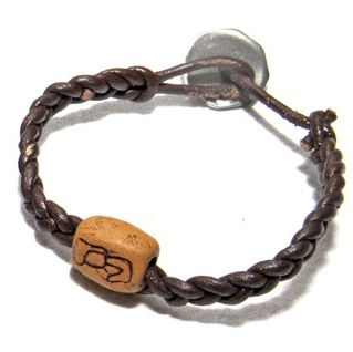 A special Wrist Button wrist-band for the special man in your life.