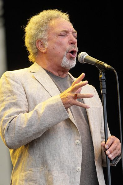 Tom Jones Photos Photos - (UK TABLOID NEWSPAPERS OUT) Tom Jones performs on day three of Latitude Festival 2010 held at Henham Park Estate on July 18, 2010 in Southwold, England. - Latitude Festival 2010: Day 3