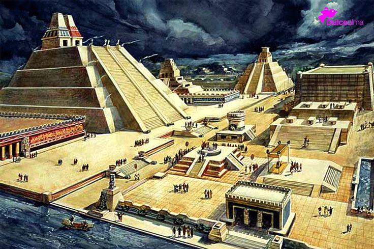 #Sabíasque La ciudad de #Tenochtitlán tenía alrededor de 150.000 habitantes y superaba en extensión y planificación urbana a cualquier ciudad europea de la época. #DulceTradición #DulceDato La nota aquí: http://buff.ly/1HQ2Z6l