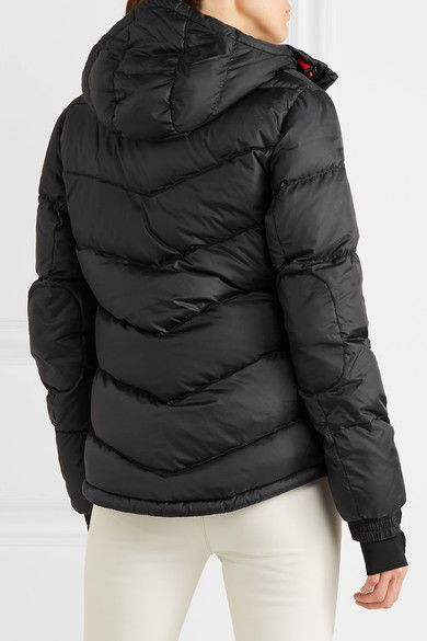 Perfect Moment - Super Day Quilted Down Ski Jacket - Black - x small