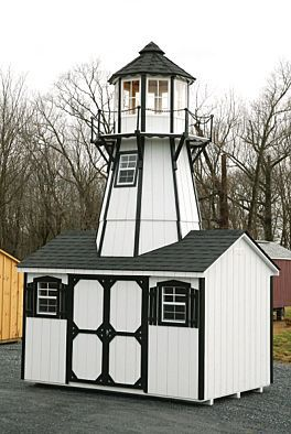 20u0027 Lighthouse Storage Shed