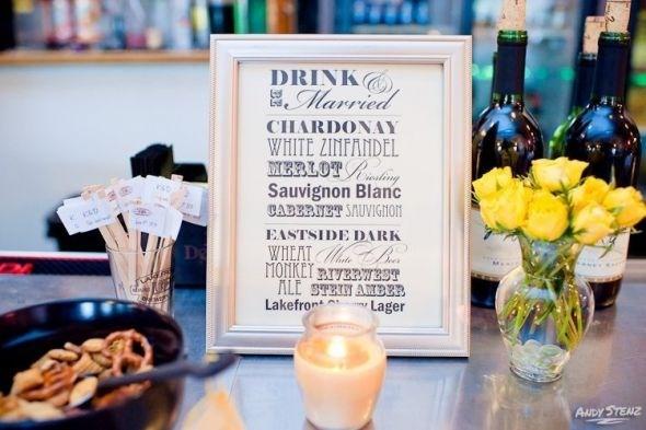 25 Best Ideas About Drink Menu On Pinterest: 28 Best Images About Signature Drink Menus & Frames On