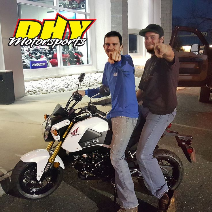 Congratulations to Timothy from #Thorndale #PA on his purchase of this 2015 #Honda #Grom #125 Enjoy all the fun and smiles. Thank you for making your purchase at #DHYMotorsports #mynewride #dhynj