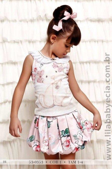 BLUSA Infantil  Com SAIA Miss Cake Doce Princesa 530353                                                                                                                                                      Mais