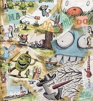 Macanudo 10 conta coas andanzas de personaxes como Enriqueta e o seu osito Madariaga, a aceituna Oliverio, Olga, duendes, pingüinos, o Misterioso home de negro, Fellini, o Tradutor de nomes de películas, Cousas que se cadra lle pasaron a Picasso, Lorenzo e Teresita, Pan Chueco e Conceptual Incomprensible... Neste número 10 o lector atopará un sinfín de historias da man dun dos mellores debuxantes internacionais.