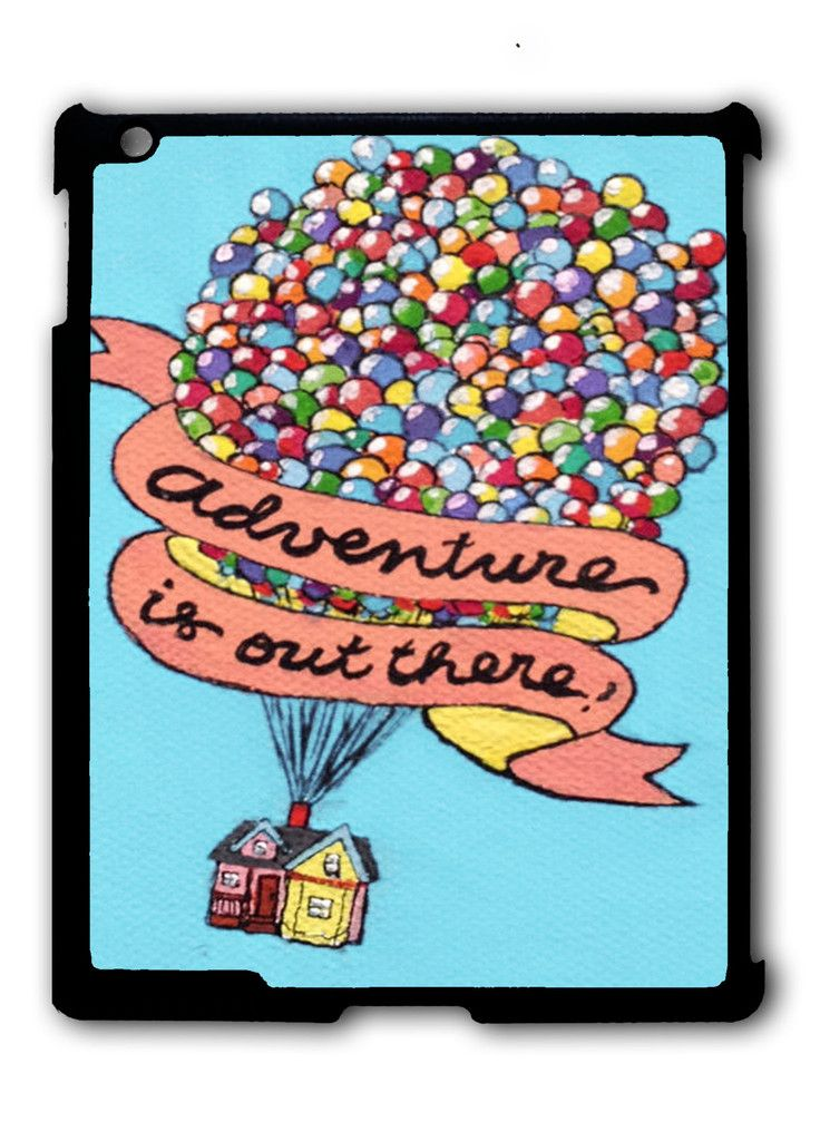 Adventure is Out There Pixar Disney iPad case, Available for iPad 2, iPad 3, iPad 4 , iPad mini and iPad Air