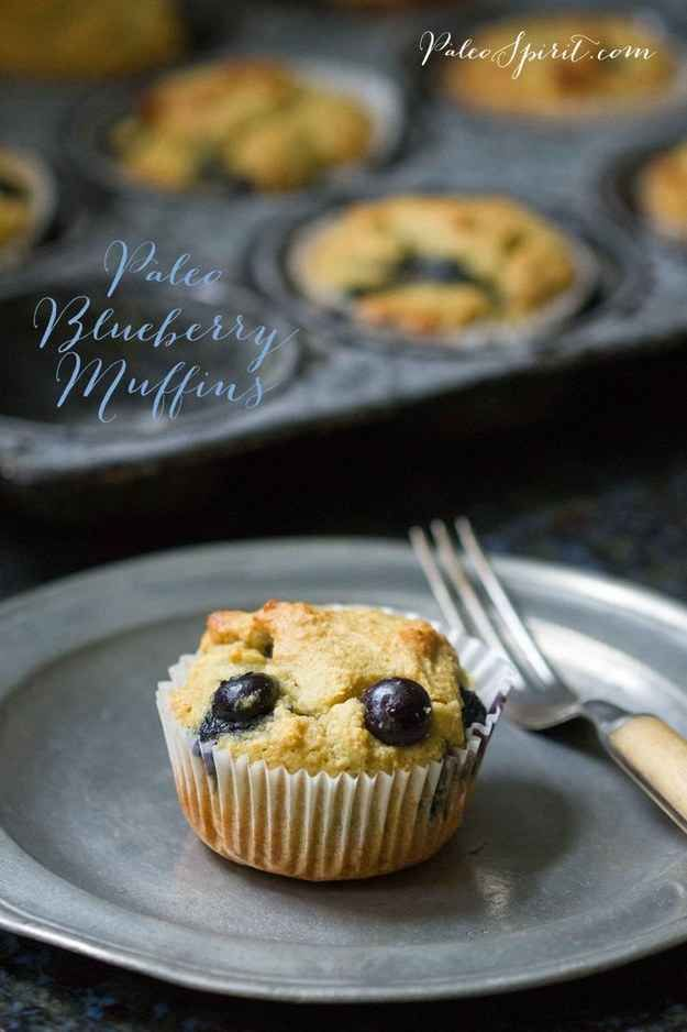 Paleo Blueberry Muffins | 27 Delicious Paleo Recipes To Make This Summer