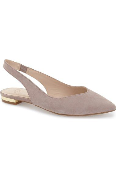 Marc Fisher LTD 'Silvia' Slingback Flat (Women) available at #Nordstrom