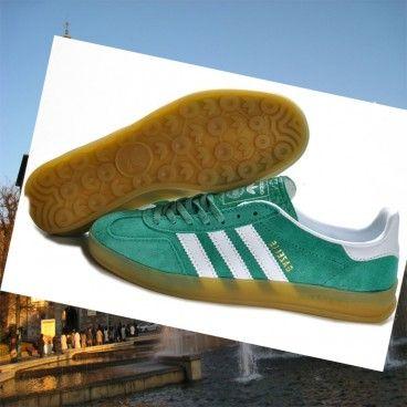 Cheap Italia Adidas uomini gazzella pelle scamosciata verde scarpe da tennis bianche Italia Compra Italia 2015